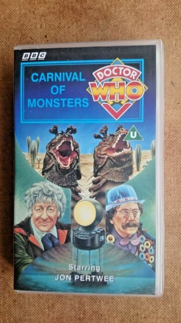 Doctor Who - Carnival Of Monsters (VHS/H, 1995) - Jon Pertwee